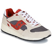 kengät Miehet Matalavartiset tennarit Saucony SHADOW 5000 VINTAGE Beige / Grey / Red