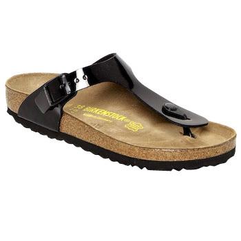 kengät Naiset Varvassandaalit Birkenstock GIZEH Black