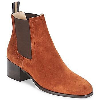 kengät Naiset Nilkkurit Marc O'Polo CATANIA Brown
