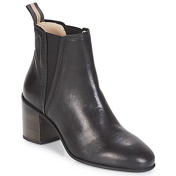 kengät Naiset Nilkkurit Marc O'Polo CAROLINA Black