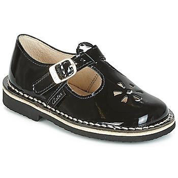kengät Tytöt Balleriinat Aster DINGO Black