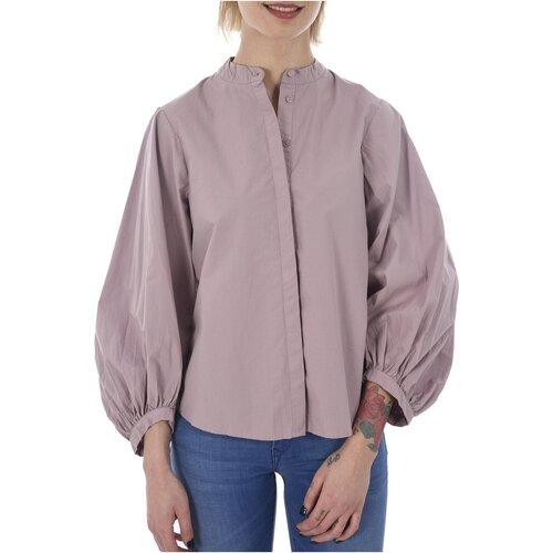 vaatteet Naiset Paitapusero / Kauluspaita Vero Moda THEA LS BELL SLEEVE SKIRT D2-7 Violetti