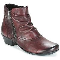 kengät Naiset Nilkkurit Remonte Dorndorf SORIAL Maroon