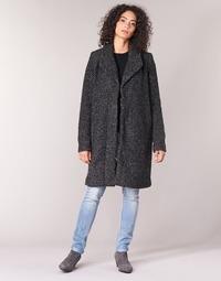 vaatteet Naiset Paksu takki Vila VICAT Black