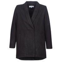 vaatteet Naiset Paksu takki Vila VICAMDON Black