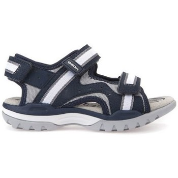 kengät Lapset Sandaalit ja avokkaat Geox J Borealis Boy Navygrey Mustat