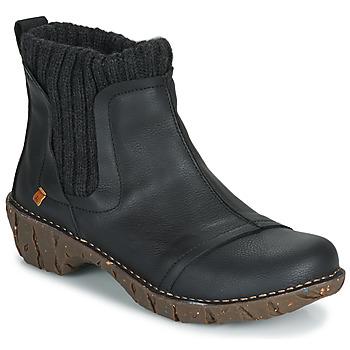 kengät Naiset Bootsit El Naturalista YGGDRASIL Black