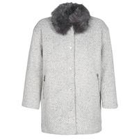 vaatteet Naiset Paksu takki Le Temps des Cerises DUCHESSE Grey