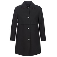 vaatteet Naiset Paksu takki Sisley FAREDA Black