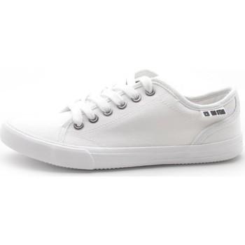 kengät Naiset Matalavartiset tennarit Big Star W274835 Valkoiset