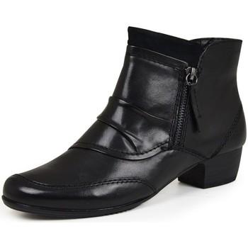 kengät Naiset Nilkkurit Jana 25331 Mustat