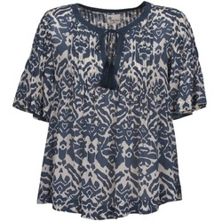 vaatteet Naiset Topit / Puserot Stella Forest ANNAICK ECRU / Blue