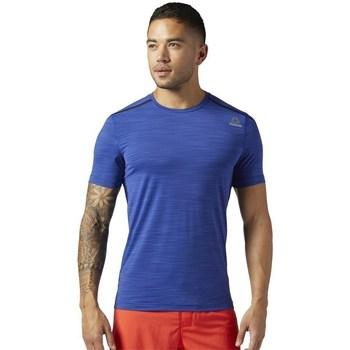 vaatteet Miehet Lyhythihainen t-paita Reebok Sport Actvchl Tee Vaaleansiniset