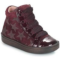 kengät Tytöt Korkeavartiset tennarit Acebo's MASSA Viininpunainen