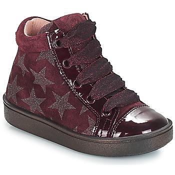kengät Tytöt Korkeavartiset tennarit Acebo's MASSA Bordeaux