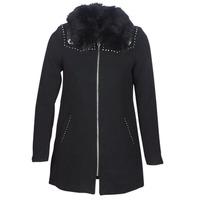 vaatteet Naiset Paksu takki Desigual COLLINE Black