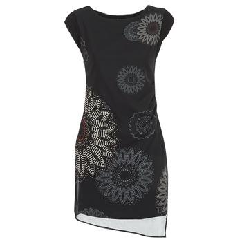 vaatteet Naiset Lyhyt mekko Desigual SANDRINI Black