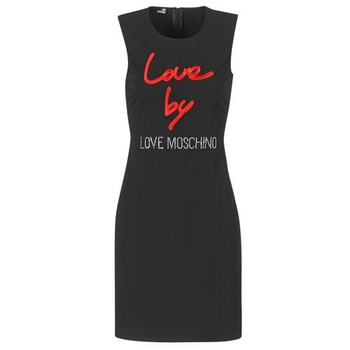 vaatteet Naiset Lyhyt mekko Love Moschino CARININA Black