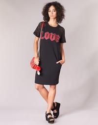 vaatteet Naiset Lyhyt mekko Love Moschino BLAFA Black