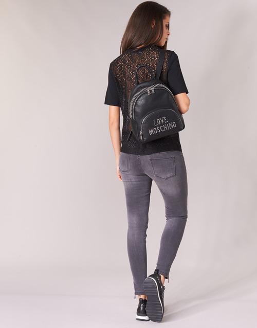 Love Moschino Gaqueta Black - Ilmainen Toimitus- Vaatteet Paita Naiset 111