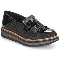kengät Naiset Mokkasiinit Regard RINOVI V2 COMET NERO Black