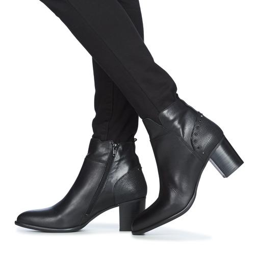 Regard Rustano V1 Maia Noir Black - Ilmainen Toimitus- Kengät Nilkkurit Naiset 103