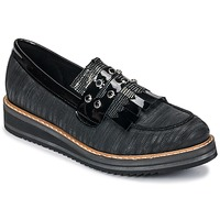 kengät Naiset Mokkasiinit Regard RUVOLO V1 ZIP NERO Black