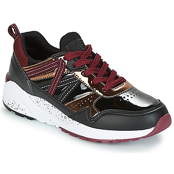 kengät Naiset Matalavartiset tennarit Superdry URBAN STREET RUNNER Black / Bordeaux