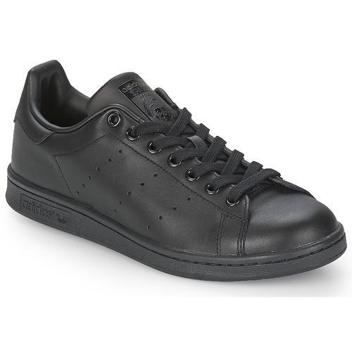 adidas Originals STAN SMITH Black - Ilmainen toimitus osoitteessa ... b86e186c7c