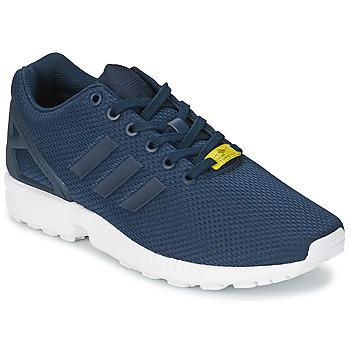 kengät Miehet Matalavartiset tennarit adidas Originals ZX FLUX Blue / White