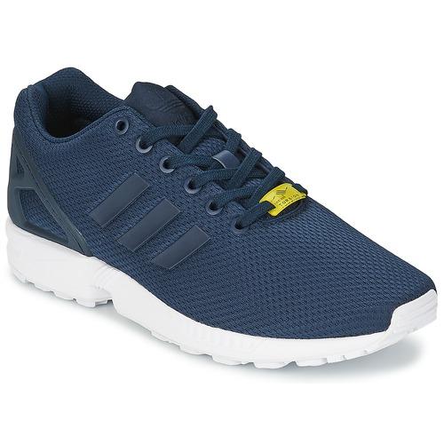 kengät Miehet Matalavartiset tennarit adidas Originals ZX FLUX Blue / White