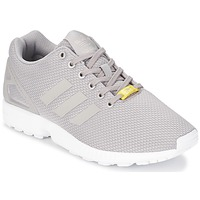 kengät Miehet Matalavartiset tennarit adidas Originals ZX FLUX Grey / White