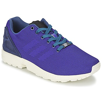 kengät Miehet Matalavartiset tennarit adidas Originals ZX FLUX WEAVE Blue