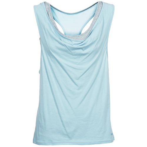 vaatteet Naiset Hihattomat paidat / Hihattomat t-paidat Bench SKINNIE Blue