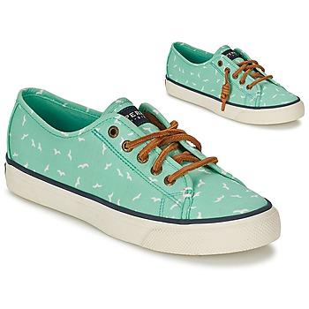 kengät Naiset Matalavartiset tennarit Sperry Top-Sider SEACOAST Green