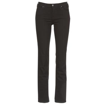 vaatteet Naiset Suorat farkut Lee MARION STRAIGHT Black