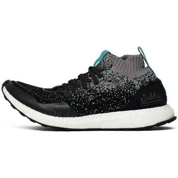 kengät Miehet Korkeavartiset tennarit adidas Originals Consortium Ultraboost Mid SE X Mustat,Harmaat