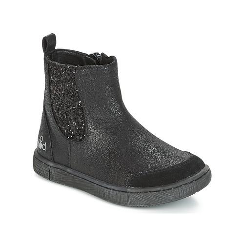 kengät Tytöt Bootsit Mod'8 BLABLA Black