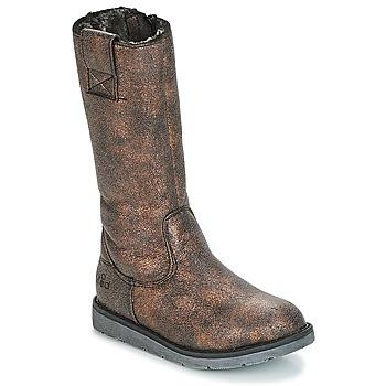 kengät Tytöt Saappaat Mod'8 ALTANA Musta / Pronssi
