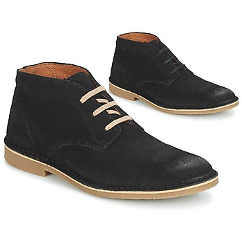 kengät Miehet Bootsit Selected ROYCE DESERT SUEDE BOOT Black