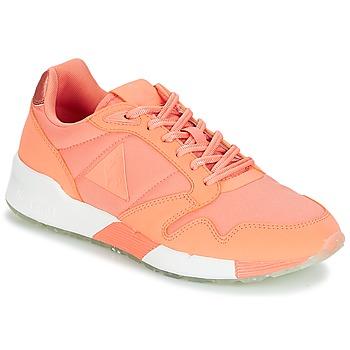 kengät Naiset Matalavartiset tennarit Le Coq Sportif OMEGA X W METALLIC Pink / Corail