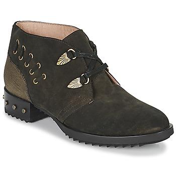kengät Naiset Bootsit Mam'Zelle XESTO Kaki