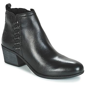 kengät Naiset Nilkkurit Marco Tozzi HISSU Black