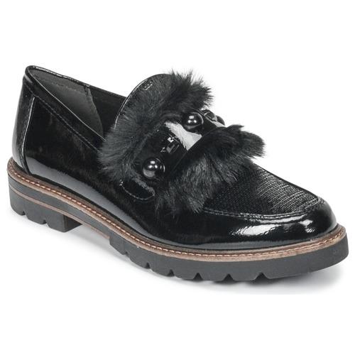 kengät Naiset Mokkasiinit Marco Tozzi TANIT Black