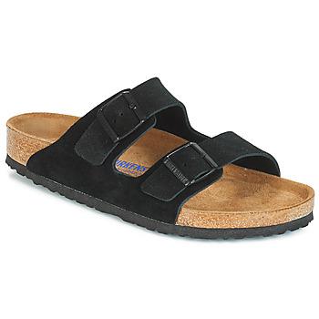 kengät Miehet Sandaalit Birkenstock ARIZONA SFB Black