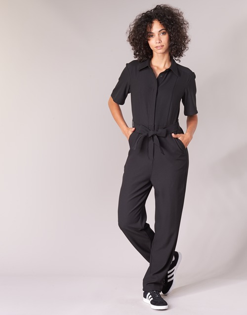 vaatteet Naiset Jumpsuits / Haalarit G-Star Raw BRISTUM DC JUMPSUIT Black