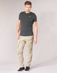 vaatteet Miehet Reisitaskuhousut G-Star Raw ROVIC ZIP 3D STRAIGHT TAPERED Beige