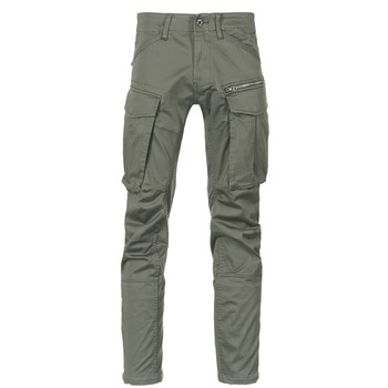 vaatteet Miehet Reisitaskuhousut G-Star Raw ROVIC ZIP 3D STRAIGHT TAPERED Grey / Green