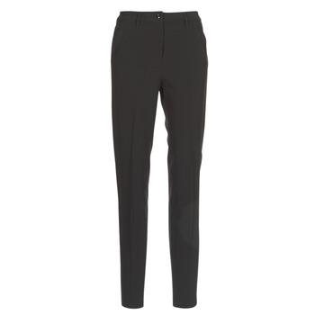 vaatteet Naiset Chino-housut / Porkkanahousut G-Star Raw BRONSON HIGH SKINNY PIPING CHINO Black