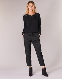 vaatteet Naiset Väljät housut / Haaremihousut G-Star Raw BRONSON JOG Black